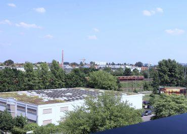 Ausblick über Berlin Adlershof